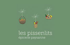 Logo les Pissenlits - épicerie paysanne